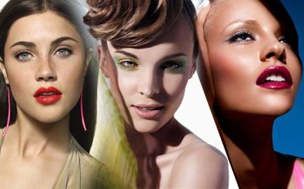 Snobka poleca: wiosenne trendy w makijażu 2012