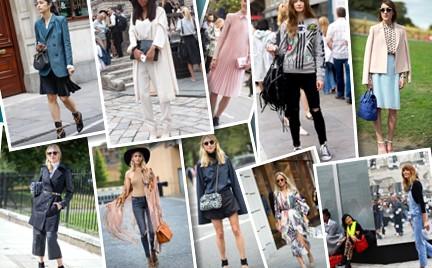 10 najlepszych stylizacji street style z londyńskiego tygodnia mody