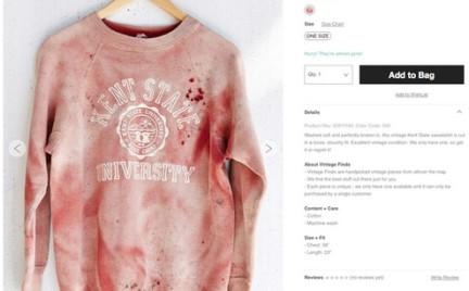 Kolejna wpadka Urban Outfitters. Afera wokół zakrwawionej bluzy