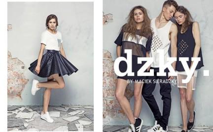 Polska moda: letnie nowości w kolekcji DZKY. by maciek sieradzky