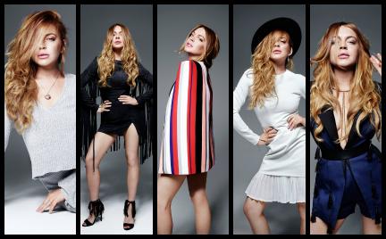 Modny powrót Lindsay Lohan. Nowa kolekcja dla Lavish Alice