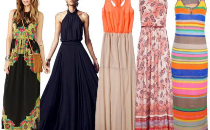 Kupujemy: długą letnią sukienkę