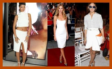Która najlepsza: trzy celebrytki trzy białe kreacje