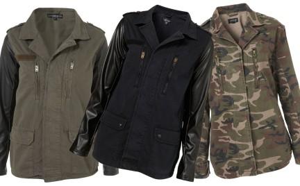 W militarnym stylu: kurtki TopShop