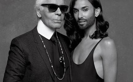 Conchita Wurst w obiektywie Karla Lagerfelda
