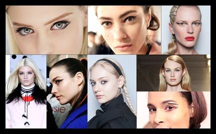 Czarny eyeliner na osiem sposobów