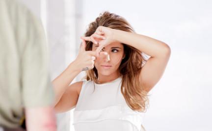 Cheryl Cole bez makijażu w najnowszej kampanii L Oreal