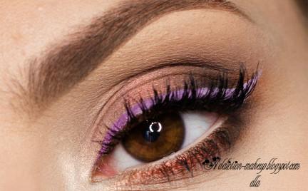 Makijaż: Soft Purple Ombre
