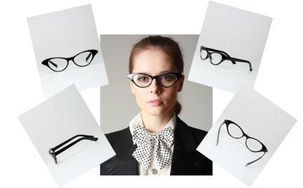 Okulary kocie oczy VintageShop