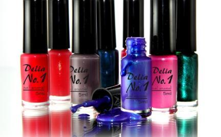 Limitowane emalie do paznokci Delia No.1
