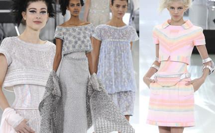 Tenisówki haute couture czyli pokaz najnowszej kolekcji Chanel Couture wiosna 2014