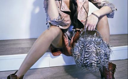 Jak Ci się podoba: futrzana torebka Goshico