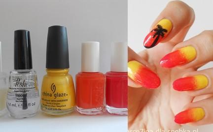 Manicure krok po kroku: Palma