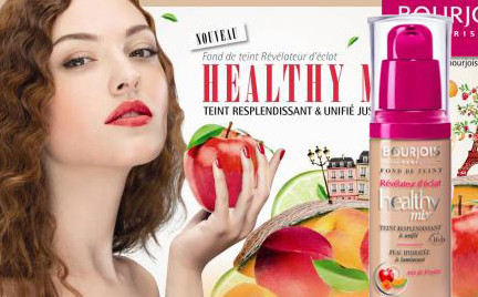 W poszukiwaniu podkładu idealnego: Bourjois Healthy Mix