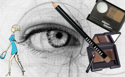 Kosmetyczna agentka: stylizacja brwi