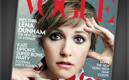 Lena Dunham gwiazdą okładki Vogue a
