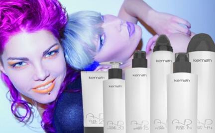 Kształty i kolory czyli fryzury z marką Kemon