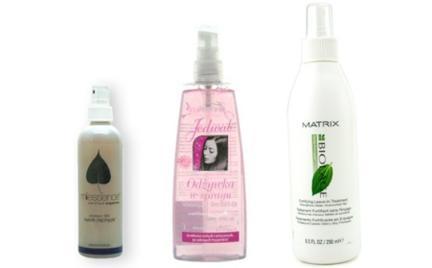 Na każdą kieszeń: odżywki do włosów w sprayu