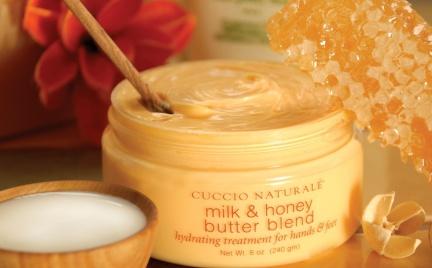 Odpędzanie zimowej aury z kosmetykami Cuccio Naturale