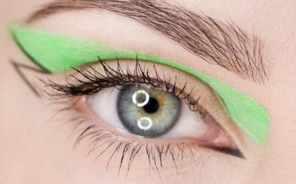 Makijaż: Jeremy Scott Fall 2013