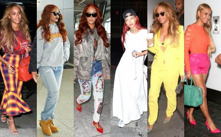 Najgorzej ubrane gwiazdy tygodnia: Beyonc i Rihanna