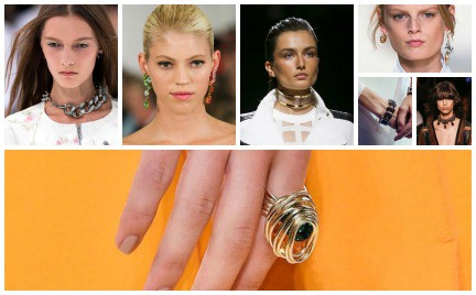 Biżuteryjne trendy na wiosnę 2015