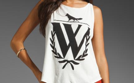 Koszulki z mega nadrukami Wildfox Couture