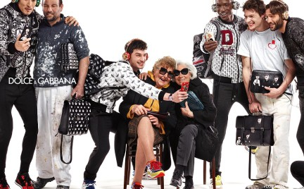 Matki i amatorki selfie w kampanii Dolce Gabbana