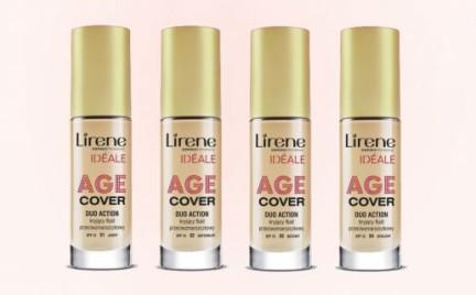 W poszukiwaniu podkładu idealnego: Ideale Age Cover Lirene
