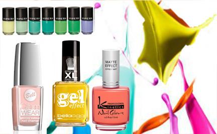 Top 5 wiosenne kolory na paznokciach