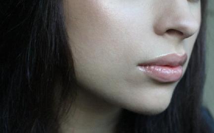 Makijaż 241 - brązowy brokatowy