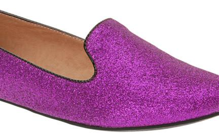 Z czym to nosić: brokatowe buty Aldo