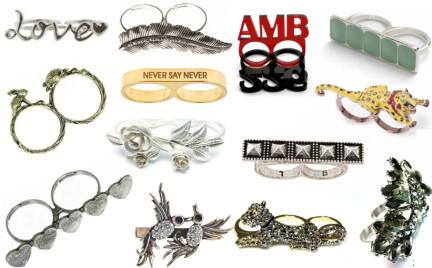 Kupujemy: podwójne i potrójne pierścionki