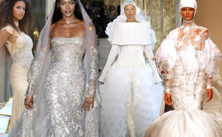 Spektakularne suknie ślubne haute couture część 2.