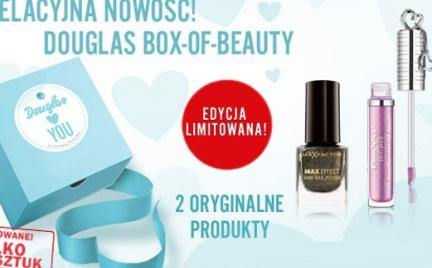 Hot promocja: limitowany Douglas Box-Of-Beauty tylko 300 sztuk