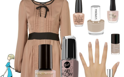 Kosmetyczna agentka: paznokcie w kolorach nude