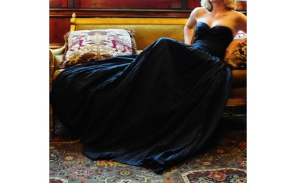 Co o tym myślicie: czarna suknia ślubna
