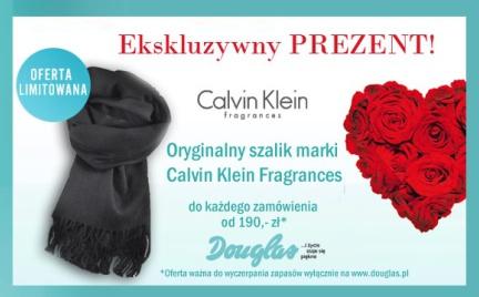 Promocja: ekskluzywny szalik Calvin Klein gratis