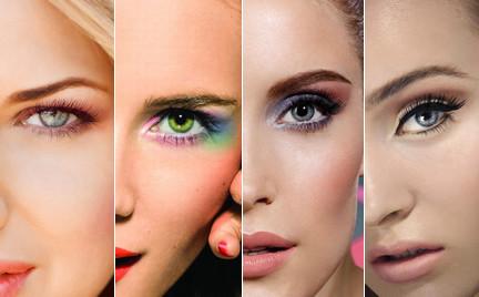 Top 5: najciekawsze kolory cieni do powiek