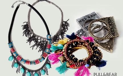 Biżuteria Pull Bear kolorowo w rozmiarze XXL