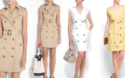 Drożej taniej: sukienki Burberry i Mango