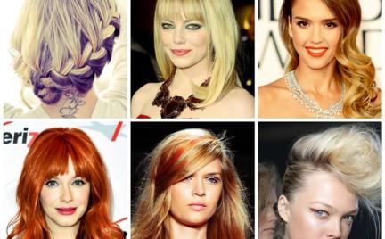 Najmodniejsze kolory włosów 2013