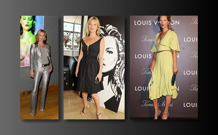 Która najlepsza: trzy stylizacje Kate Moss