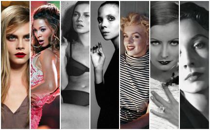 Cara Delevingne niczym Greta Garbo Gwiazdy które nadały pięknu nowe znaczenie