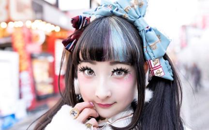 Nowy japoński trend w makijażu: rumieńce pod oczami