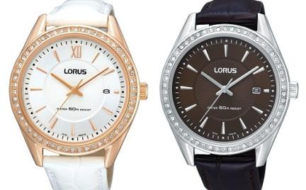 Zegarki Lorus błyszczący trend i stonowane barwy