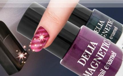 Kosmetyk tygodnia: magnetyczne lakiery Delia Magnetic