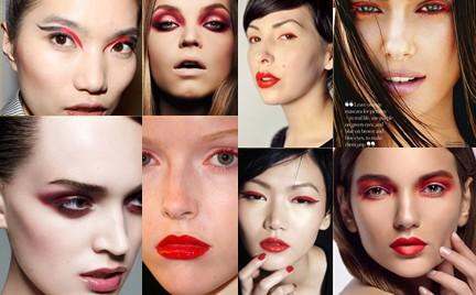 Hit czy kit: czerwień w makijażu oczu