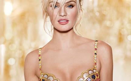 Candice Swanepoel w biustonoszu za 10 milionów dolarów