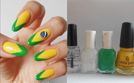 Manicure krok po kroku: Brazylia